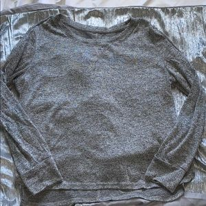 xhilaration gray pajama sweater